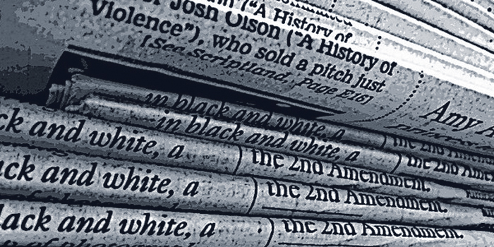 publicidad y comunicacion: newspaper