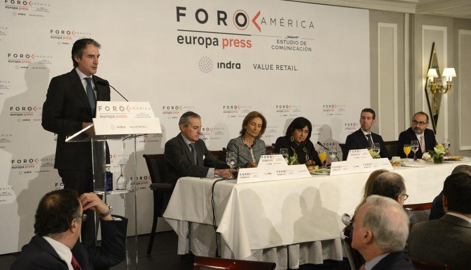 Estudio de Comunicación - Foro América - Íñigo Gómez de la Serna - Ministro de Fomento