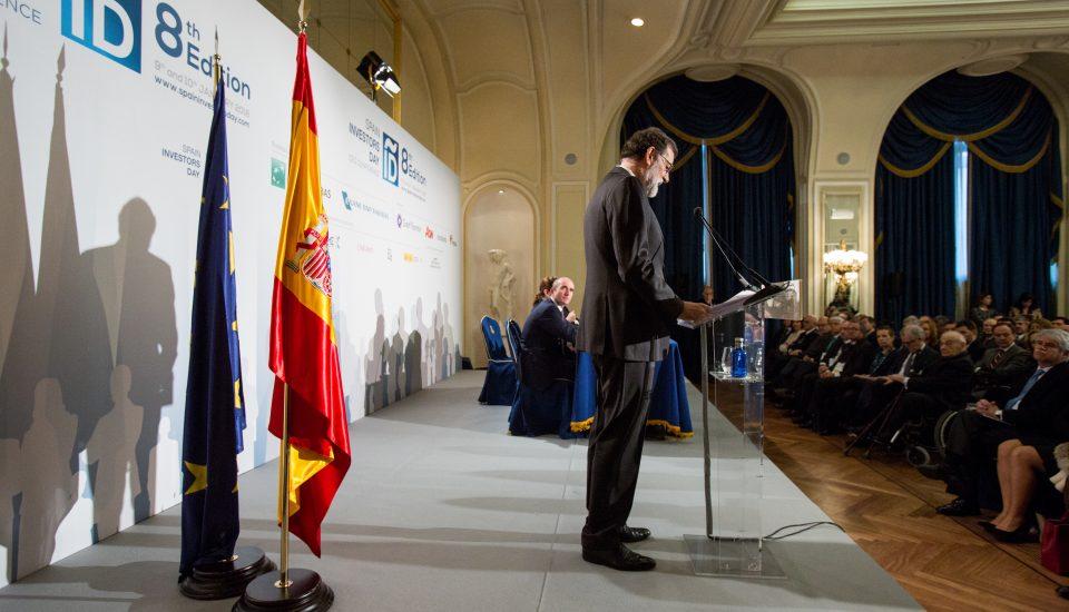 Estudio de Comunicación - Mariano Rajoy - Spain Investors Day