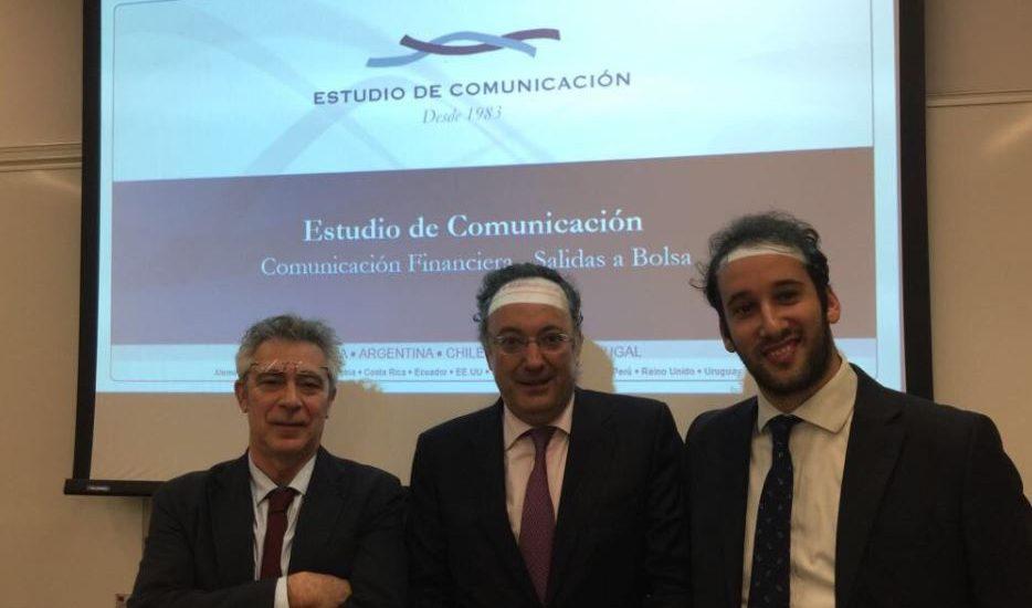 Pedro Soto, Santiago Castaño e Iñaki Torres - Estudio de Comunicación