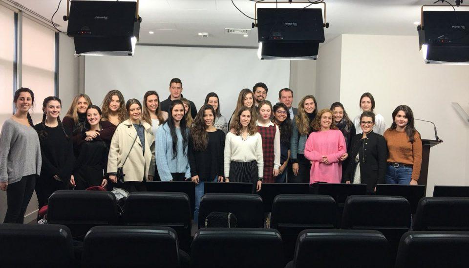 clase magistral de Jesús Ortiz en Estudio de Comunicación