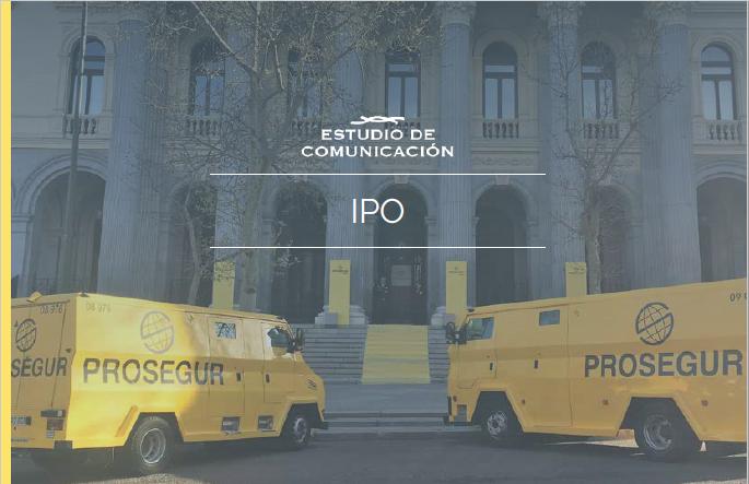 Estudio de Comunicación IPO Prosegur CAsh