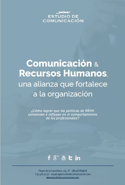 MARKETING Y COMUNICACIÓN EN DEPARTAMENTOS DE RECURSOS HUMANOS