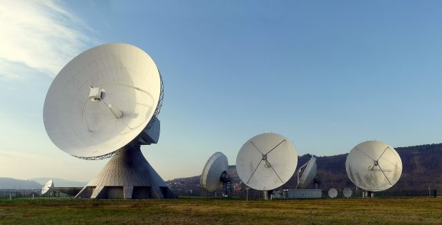 la antena de la organización