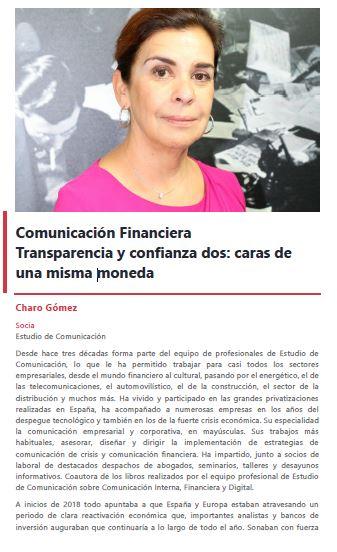 Comunicación Financiera